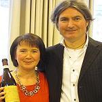 Alberto Zenato and Maureen OHara 150x150